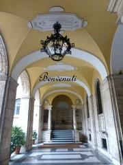 Entrata di Palazzo Cusini, sede dello Studio Legale Capponi
